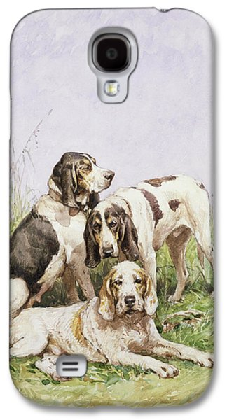 A Group Of French Hounds Galaxy S4 Case
