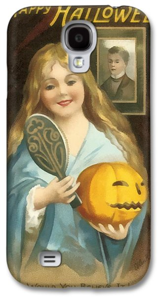 A Happy Halloween Galaxy S4 Case by Uknown