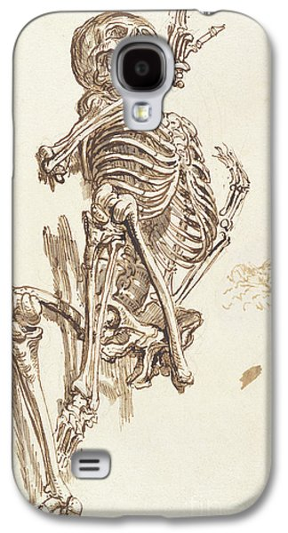 A Human Skeleton Galaxy S4 Case by James Ward