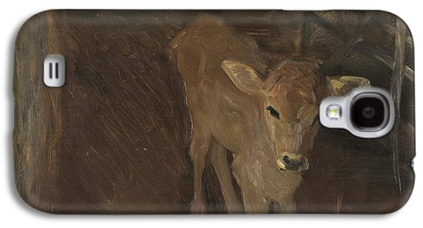 A Jersey Calf, 1893 Galaxy S4 Case by John Singer Sargent