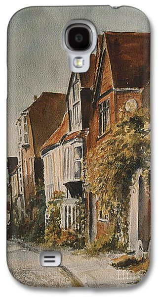 A Lane In Rye Galaxy S4 Case by Beatrice Cloake