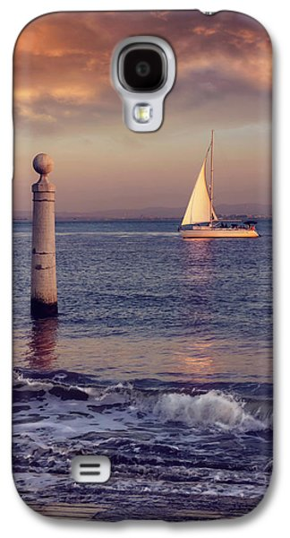 A Lisbon Sunset By The Tagus River Galaxy S4 Case