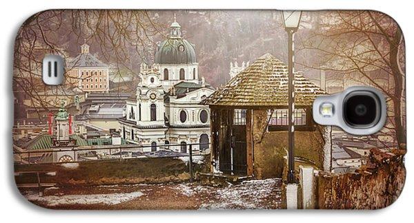 A Little Snow In Salzburg  Galaxy S4 Case by Carol Japp