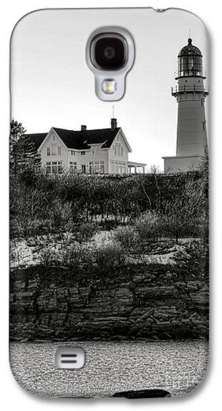 A Long Winter At Cape Elizabeth Galaxy S4 Case by Olivier Le Queinec