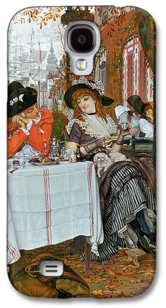 Prostitutes Paintings Galaxy S4 Cases - A Luncheon Galaxy S4 Case by Tissot