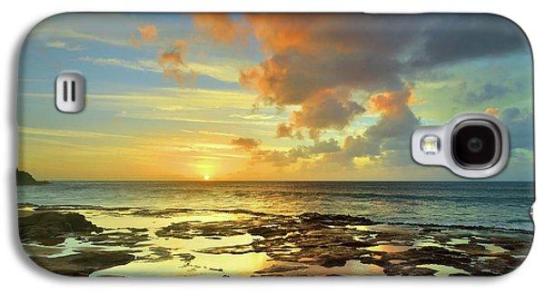 A Marmalade Sky In Molokai Galaxy S4 Case by Tara Turner