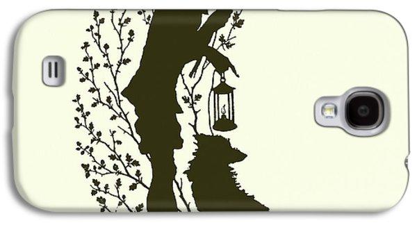 A Midsummer Night's Dream, Silhouette  Galaxy S4 Case by Paul Konewka