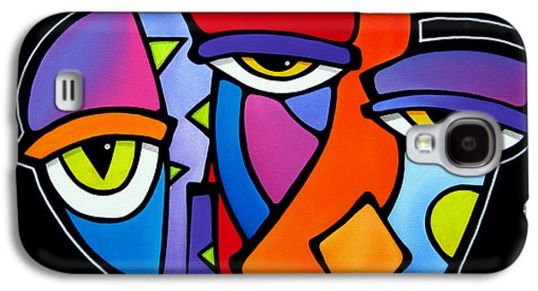 A Moment - Original Abstract Art Galaxy S4 Case by Tom Fedro - Fidostudio