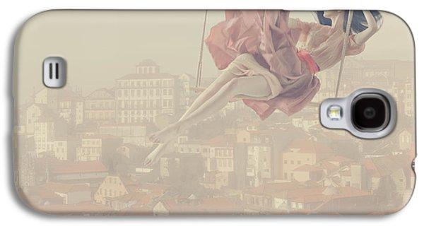 a morning over Oporto Galaxy S4 Case by Anka Zhuravleva