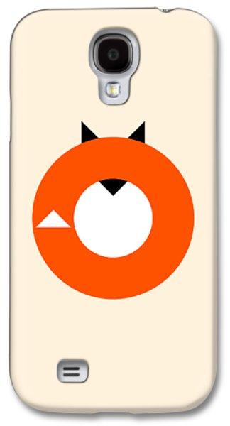 A Most Minimalist Fox Galaxy S4 Case by Nicholas Ely