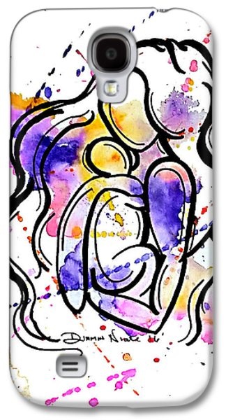 A Mother's Love Galaxy S4 Case by Diamin Nicole