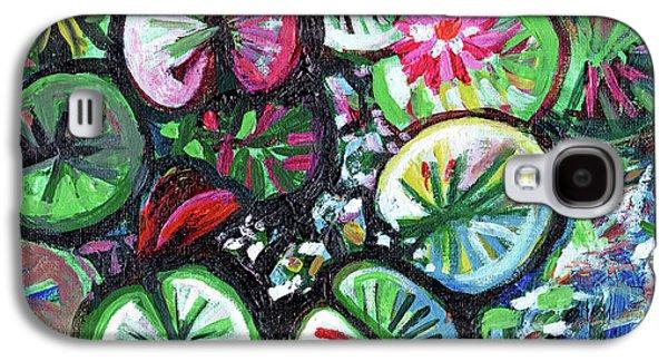 A Myriad Of Lilies Galaxy S4 Case by Genevieve Esson