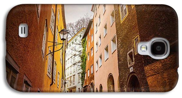 A Narrow Street In Salzburg  Galaxy S4 Case by Carol Japp