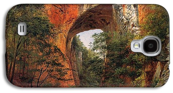 A Natural Bridge In Virginia Galaxy S4 Case by David Johnson