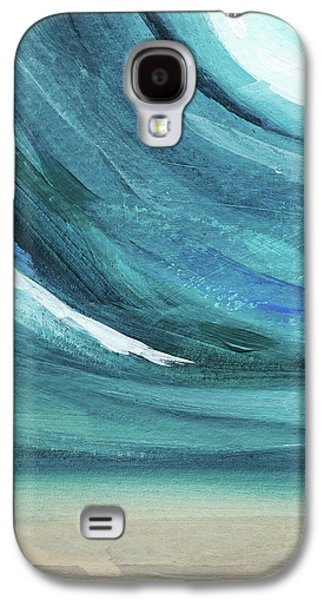 A New Start- Art By Linda Woods Galaxy S4 Case by Linda Woods