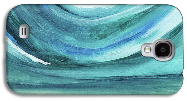 A New Start Wide- Art By Linda Woods Galaxy S4 Case by Linda Woods