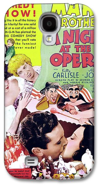 A Night At The Opera 1935 Galaxy S4 Case by M G M