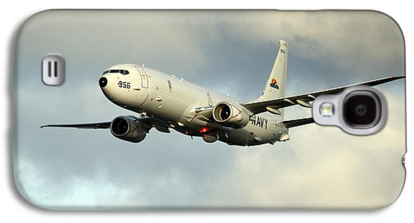 A P-8a Poseidon Conducts Flyovers Galaxy S4 Case by Celestial Images