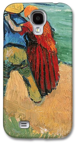 A Pair Of Lovers Galaxy S4 Case by Vincent Van Gogh