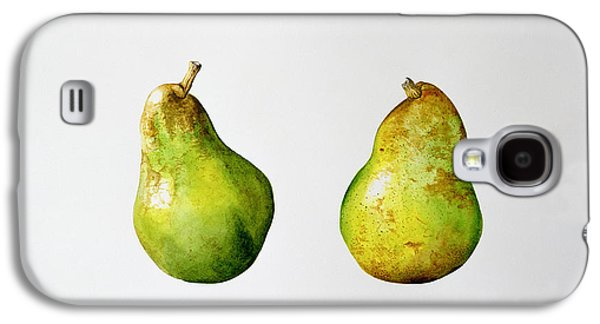 A Pair Of Pears Galaxy S4 Case by Alison Cooper