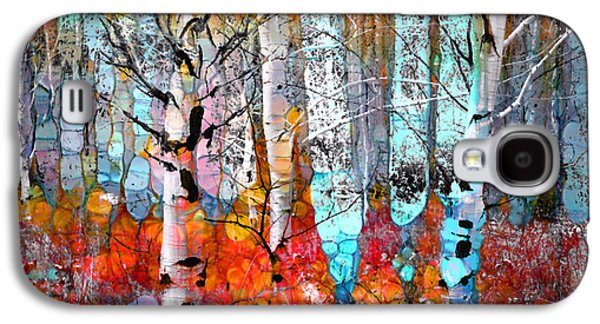 A Party In The Forest Galaxy S4 Case by Tara Turner