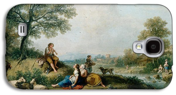A Pastoral Scene With Goatherds Galaxy S4 Case