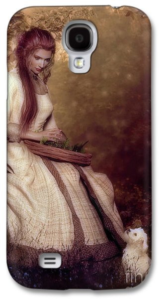 Lost In Thought Galaxy S4 Case by Shanina Conway