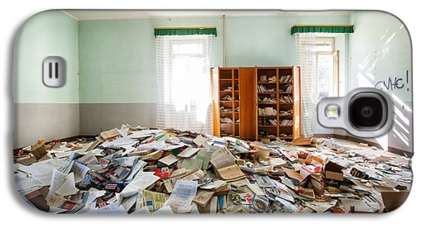 A Pile Of Knowledge - Abandoned School Galaxy S4 Case
