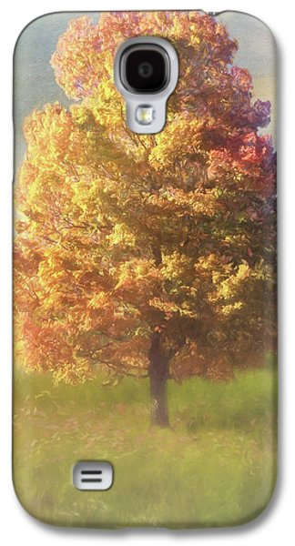 A Poem As Lovely As A Tree - Autumn Art Galaxy S4 Case