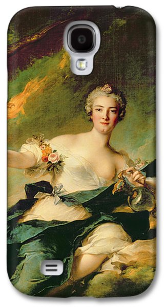 A Portrait Of Anne Josephe Bonnnier De La Mossau  Galaxy S4 Case by Jean Marc Nattier