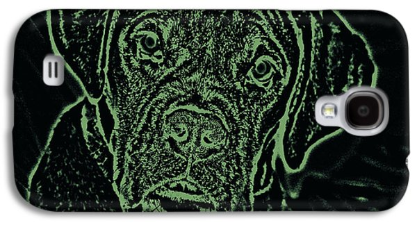 A Positive Negative Galaxy S4 Case by DigiArt Diaries by Vicky B Fuller