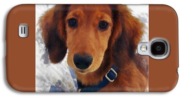 A Puppy Called Redford Galaxy S4 Case