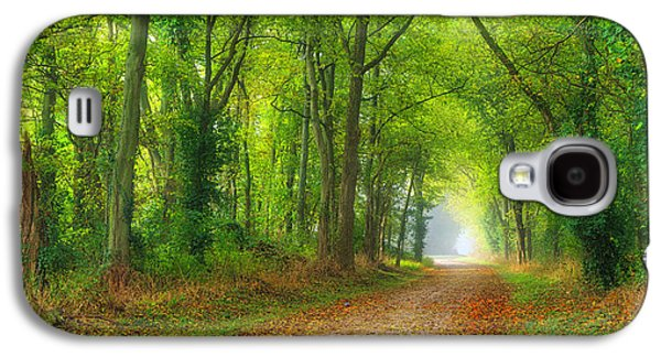 A Quiet Country Lane Galaxy S4 Case