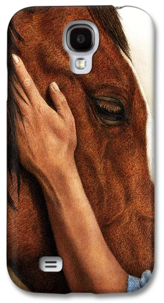 Connection Galaxy S4 Cases - A Quiet Moment Galaxy S4 Case by Pat Erickson