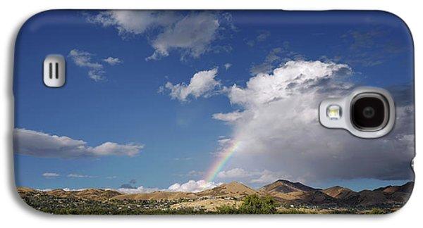 A Rainbow In Salt Lake City Galaxy S4 Case