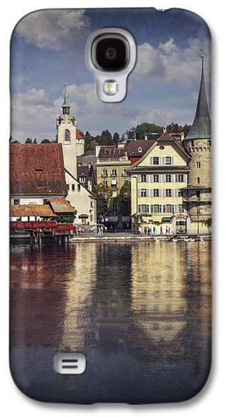 A Reflection Of Lucerne Galaxy S4 Case by Carol Japp