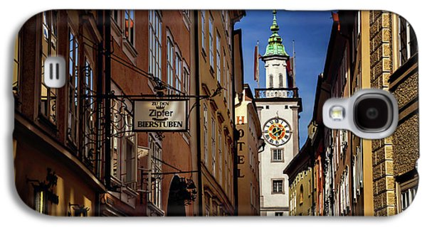A Salzburg Street  Galaxy S4 Case by Carol Japp
