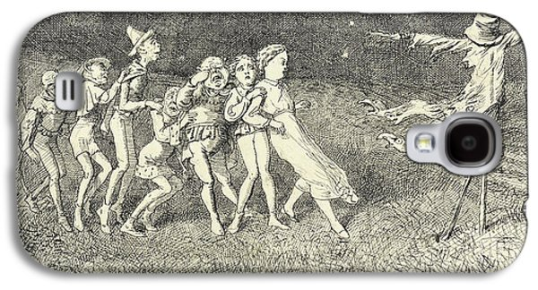 A Scarecrow Galaxy S4 Case by Charles Altamont Doyle