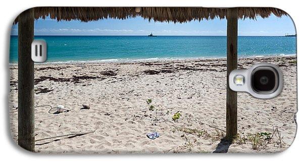A Seat In A Tropical Beach Hut Galaxy S4 Case