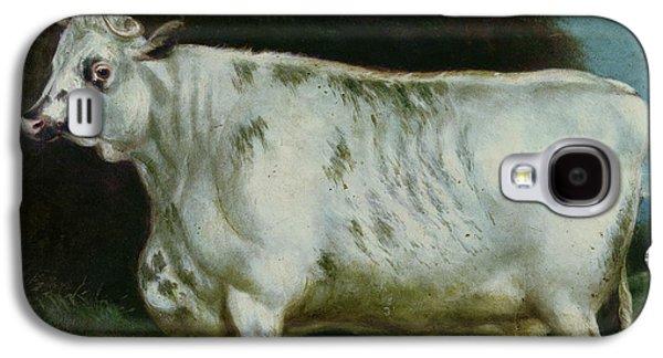 A Shorthorn Cow Galaxy S4 Case by English School