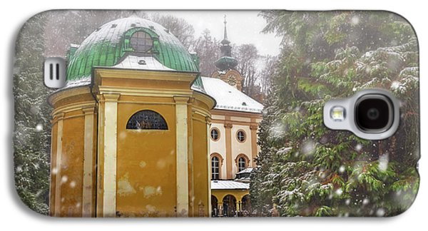 A Snowy Day In Salzburg Austria  Galaxy S4 Case by Carol Japp