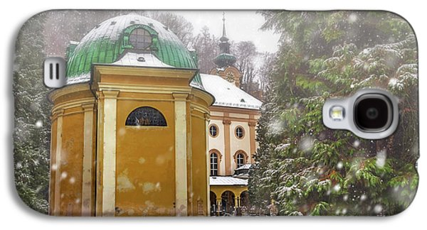 A Snowy Day In Salzburg Austria  Galaxy S4 Case by Carol Japp