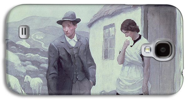 A Son Of His Father  Galaxy S4 Case by Newell Convers Wyeth