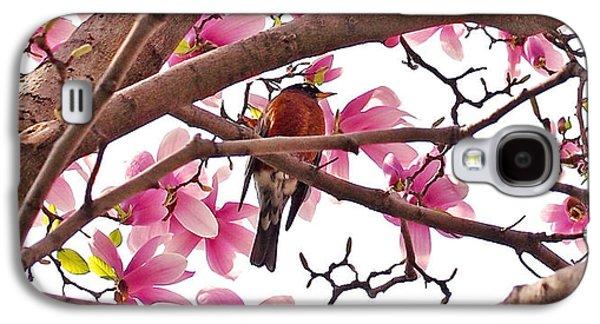 A Songbird In The Magnolia Tree - Square Galaxy S4 Case