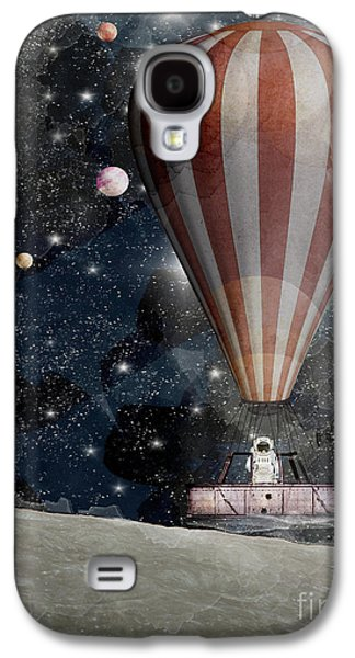 A Space Adventure Galaxy S4 Case by Bri B