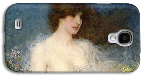 A Spring Idyll Galaxy S4 Case by George Henry Boughton