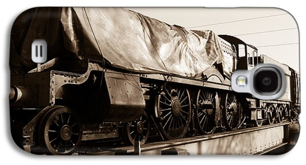 A Steam Train Under The Covers Galaxy S4 Case by Steven Sexton