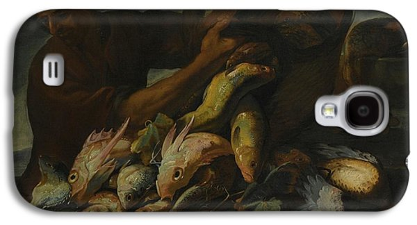 A Still Life Of Salt Water Fish With A Fisherman Galaxy S4 Case by MotionAge Designs