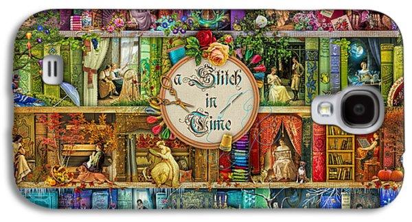 A Stitch In Time Galaxy S4 Case by Aimee Stewart