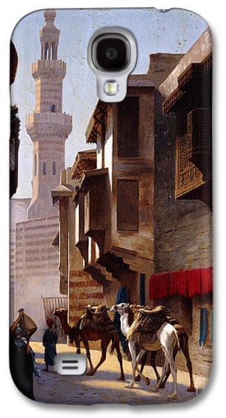 A Street In Cairo Galaxy S4 Case